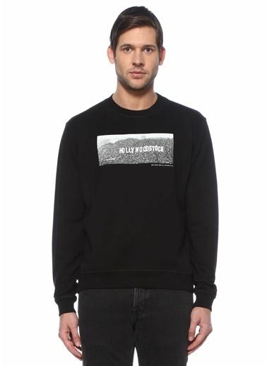 7 For All Mankind Sweatshirt Siyah
